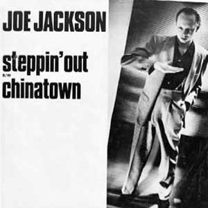 Joe Jackson ‎– Steppin' Out - Single Cover