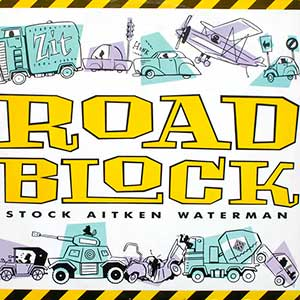 Stock Aitken Waterman - Roadblock - single cover