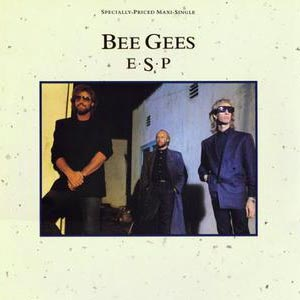 Bee Gees - E.S.P. - single cover