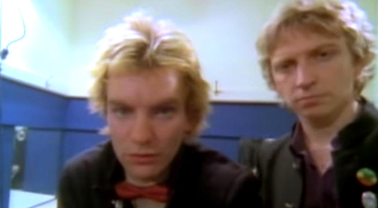 The Police - Message In A Bottle - Official Music Video