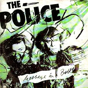 The Police - Message In A Bottle - single cover