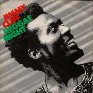 Jimmy Cliff - Reggae Night - single cover