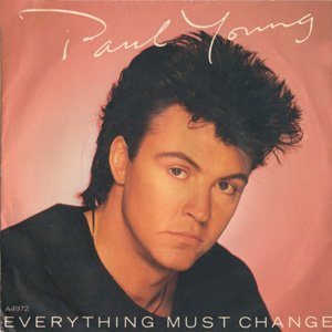 Paul Young - Everything Must Change - single cover