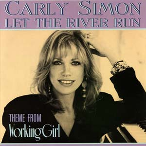 Carly Simon - Let The River Run - single cover