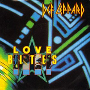Def Leppard - Love Bites - single cover