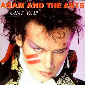 Adam & The Ants - Ant Rap - Single Cover