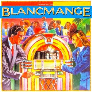 Blancmange - Living On The Ceiling - Single Cover
