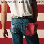 Bruce Springsteen Born In The USA album cover