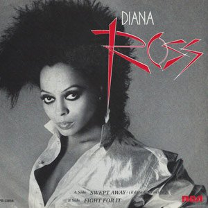 Diana Ross - Swept Away - Single Cover