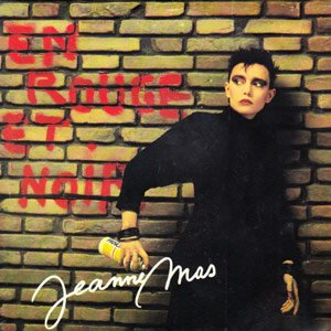 Jeanne Mas - En rouge et noir - Single Cover
