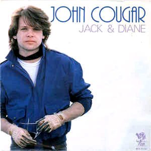 John Cougar (John Mellencamp) - Jack & Diane - single cover