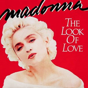Madonna - The Look of Love - Single Cover