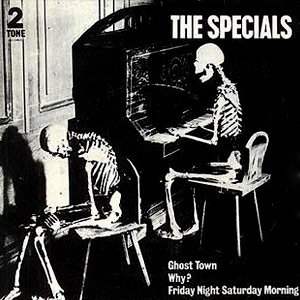 The Specials - Ghost Town - Single Cover