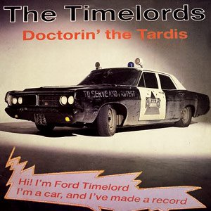 The Timelords (KLF) - Doctorin` the Tardis - Single Cover