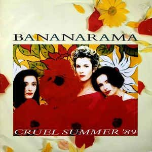 Bananarama - Cruel Summer '89 - Single Cover