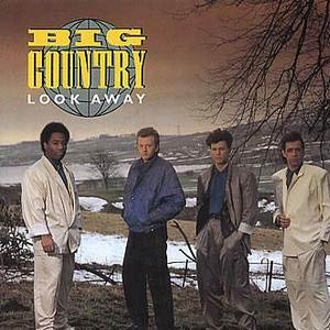 Big Country - Look Away - Single Cover