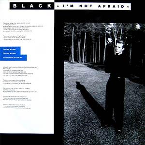 Black - I'm Not Afraid - Single Cover