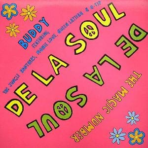 De La Soul - The Magic Number - Single Cover