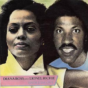 Diana Ross & Lionel Richie - Endless Love - Single Cover