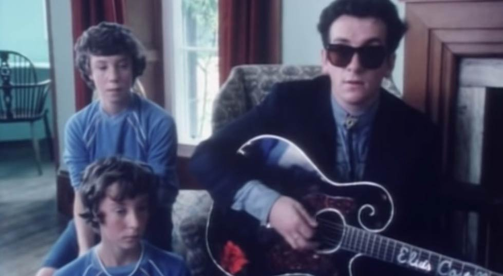Elvis Costello & The Attractions - Good Year For The Roses - Official Music Video