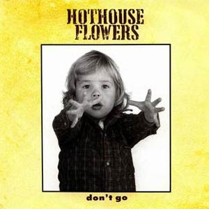 Hothouse Flowers - Don't Go - Single Cover