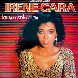 Irene Cara - Breakdance - Single Cover