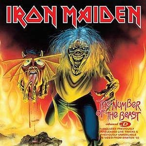 Iron Maiden - The Number Of The Beast - Single Cover