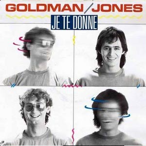 Jean-Jacques Goldman and Michael Jones - Je te donne - Single Cover