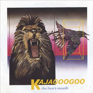 Kajagoogoo - The Lion's Mouth - Single Cover