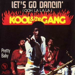 Kool & The Gang - Let's Go Dancing (Ooh, La, La, La) - Single Cover