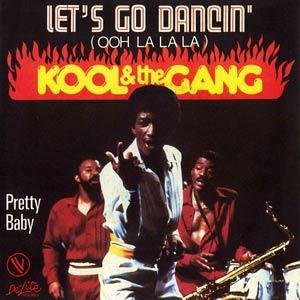 Kool & The Gang - Let's Go Dancing (Ooh, La, La, La) - Single Cover