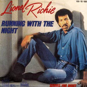 Lionel Richie - Running With The Night - Single Cover