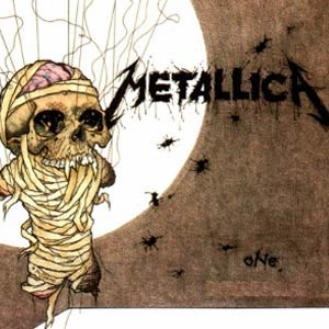 Metallica - One - Single Cover