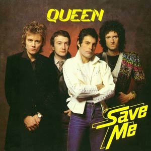 Queen - Save Me - Single Cover