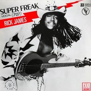 Rick James - Super Freak - Single Cover