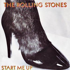 The Rolling Stones - Start Me Up - Single Cover