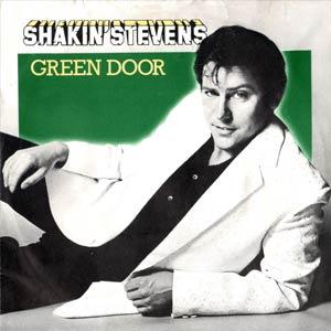 Shakin' Stevens - Green Door - Single Cover