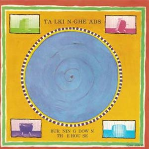 Talking Heads - Burning Down the House - Single Cover