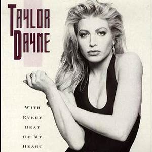 Taylor Dayne - With Every Beat Of My Heart - Single Cover