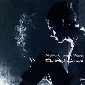 The Style Council - My Ever Changing Moods - Single Cover