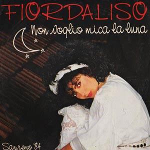 Fiordaliso - Non voglio mica la luna - Single Cover