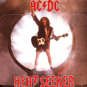 AC/DC - Heatseeker - Single Cover