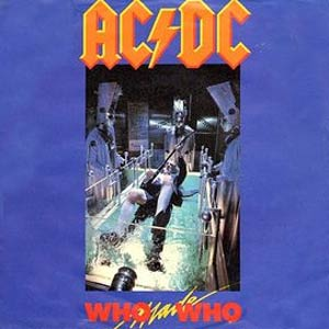 AC/DC - Who Made Who - Single Cover