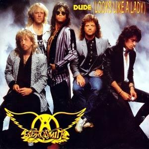 Aerosmith - Dude (Looks Like A Lady) - Single Cover