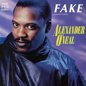 Alexander O'Neal - Fake - Single Cover