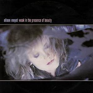 Alison Moyet - Weak in the Presence of Beauty - Single Cover