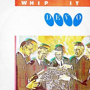 Devo - Whip It - Single Cover