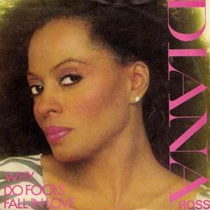 Diana Ross - Why Do Fools Fall In Love - Single Cover