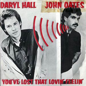 Daryl Hall & John Oates - You've Lost That Lovin' Feeling - Single Cover