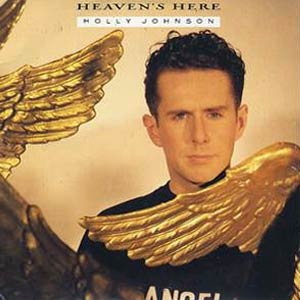 Holly Johnson - Heaven's Here - Single Cover